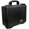 Black Pelican 100 Watt BoomCase - Vintage Suitcase BoomBox Suitcase Speaker w/ Bluetooth