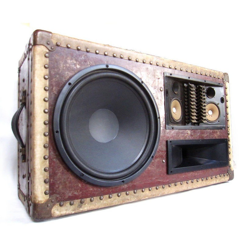 Count Thumpula 400 Watt BoomCase - Vintage Suitcase BoomBox Suitcase Speaker w/ Bluetooth