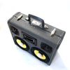 Falcon Eye 200 Watt BoomCase - Vintage Suitcase BoomBox Suitcase Speaker w/ Bluetooth