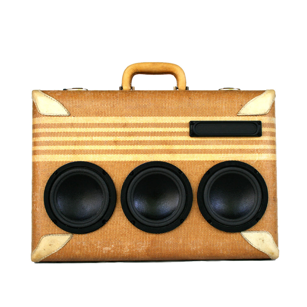Geordi La Forge 200 Watt BoomCase - vintage suitcase portable boombox