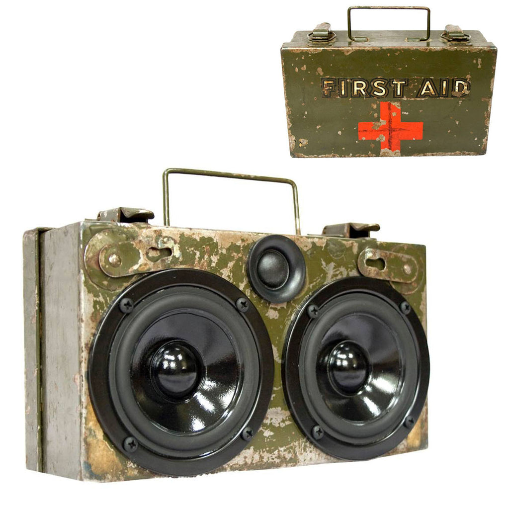 The Medic 50 Watt BoomCase - vintage suitcase portable boombox