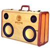 Beer Blaster 100 Watt BoomCase - Vintage Suitcase BoomBox Suitcase Speaker w/ Bluetooth