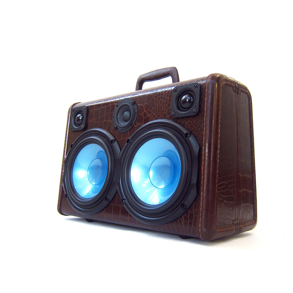 Mighty Gator 200 Watt BoomCase - vintage suitcase portable boombox