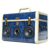 Party Picnic 50 Watt BoomCase - vintage suitcase portable boombox