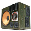 Monster Masher 400 Watt BoomCase - Vintage Suitcase BoomBox Suitcase Speaker w/ Bluetooth