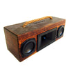 Woodsmith 50 Watt BoomCase - Vintage Suitcase BoomBox Suitcase Speaker w/ Bluetooth