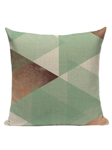 All About Geometric Pillow Cover - Modernly Fashome