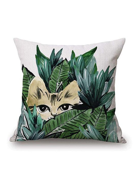 Aloha Tropical Plants Pillow Cover - Modernly Fashome
