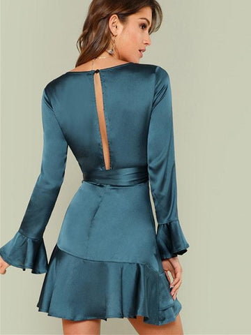products/Blue_Ruffled_Satin_Dress_1.jpg