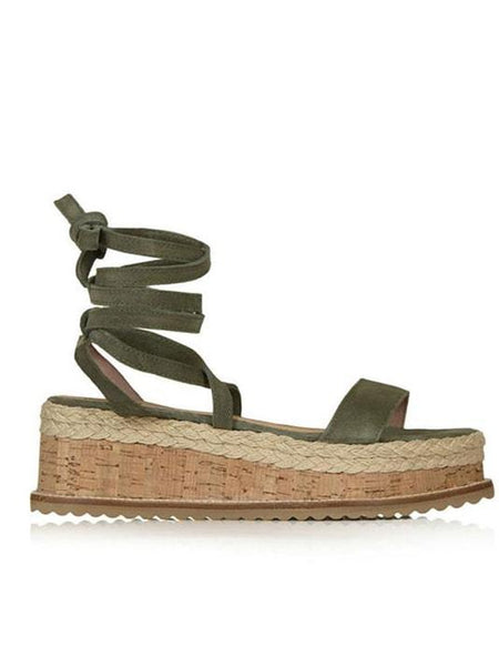 Coleen Cross-Strap Espadrilles - Modernly Fashome