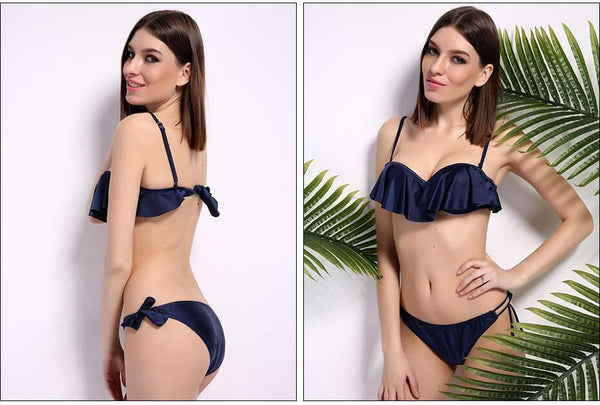 Look in the Mirror Three Piece Swimwear - Modernly Fashome