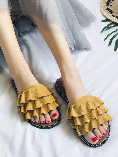 Open Toe Beach Sandals - Modernly Fashome