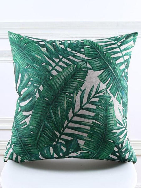 Summer Jungle Tropical Pillow Cover - Modernly Fashome