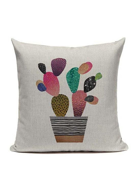 Watercolor Tropical Home Decor Pillow Cover - Modernly Fashome