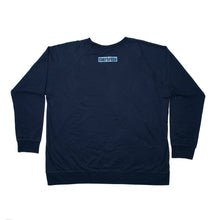 Load image into Gallery viewer, Dark Blue Long Sleeve Shirt with Inverted Logo
