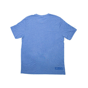 Light Blue Short Sleeve T-Shirt with Logo