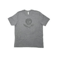Load image into Gallery viewer, Light Gray Short Sleeve T-Shirt with Logo