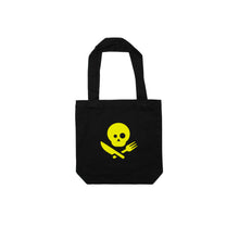 Load image into Gallery viewer, Black Tote Bag with Logo