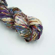Load image into Gallery viewer, Tie Dye Sari Silk Ribbon