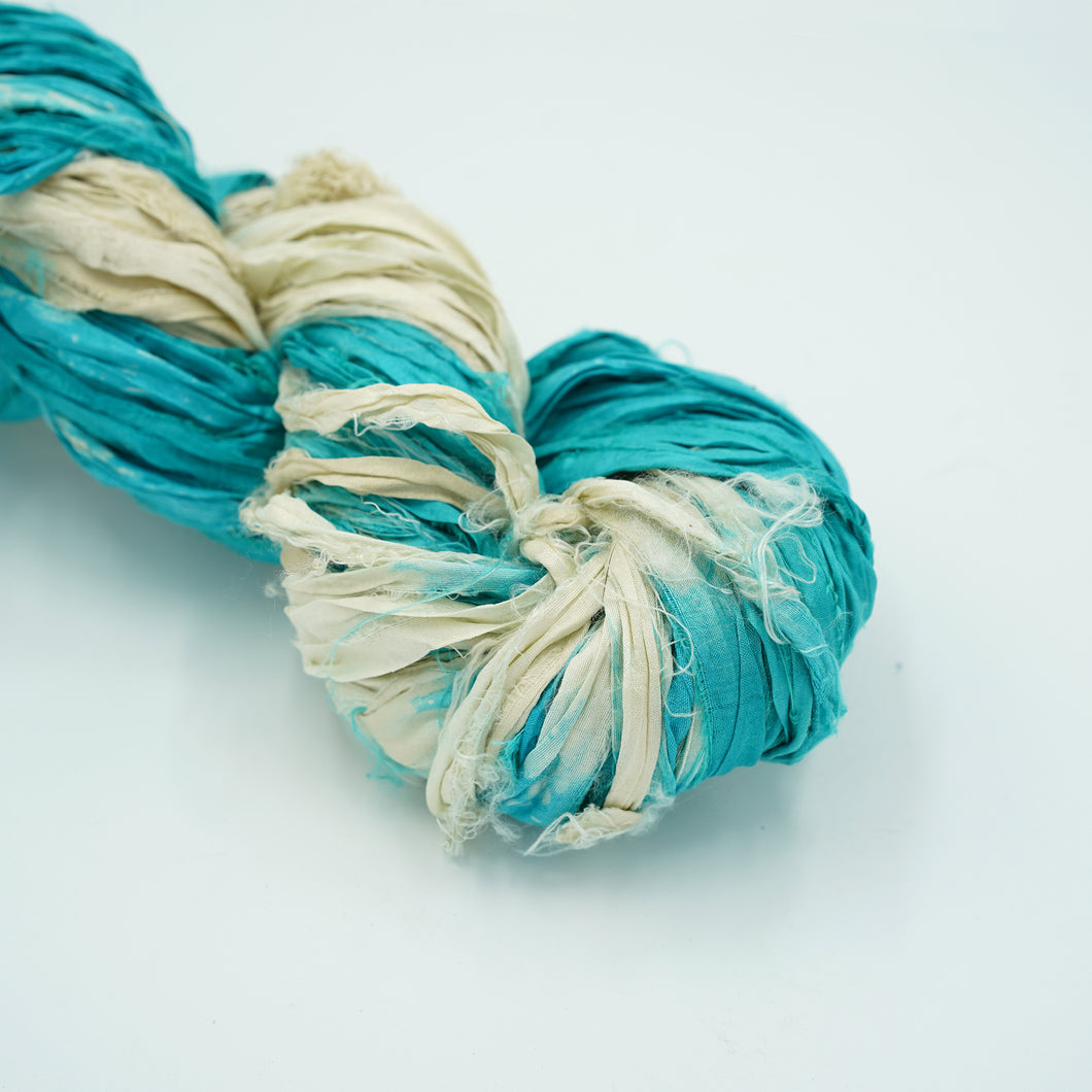 Ombre Sari Silk Ribbon
