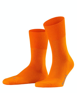 Orange Run Unisex Socks by Falke