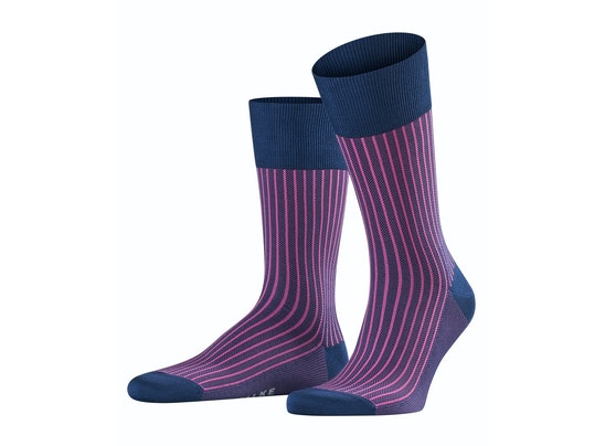 Oxford Stripe Men Socks by Falke
