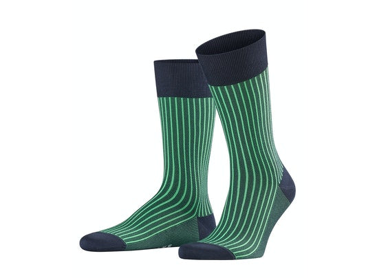 Oxford Green Neon Men Socks by Falke