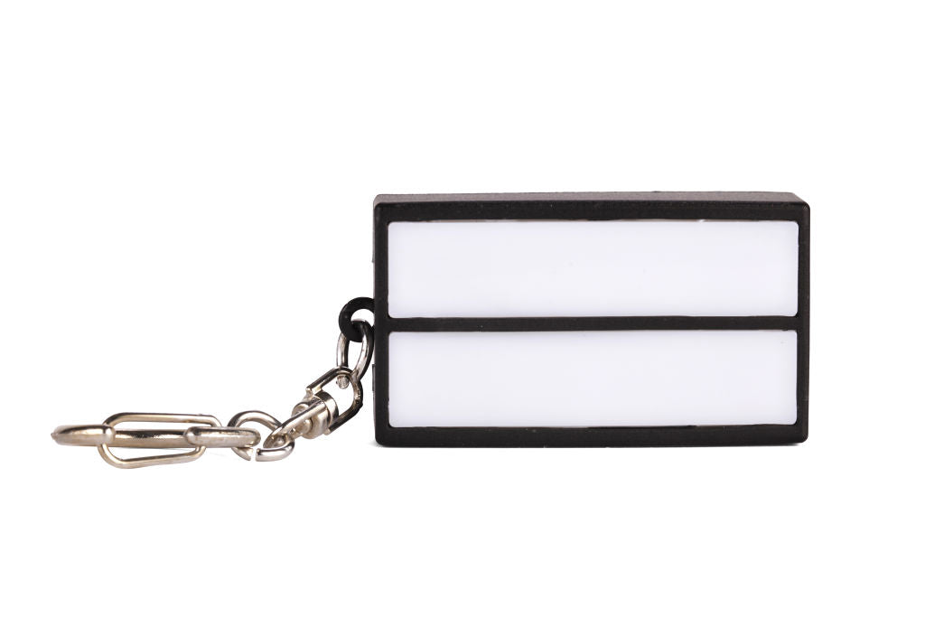 Customisable Light Box Keyring by KIKKERLAND