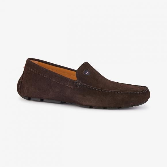 Brown Suede Driving Shoe by Eden Park