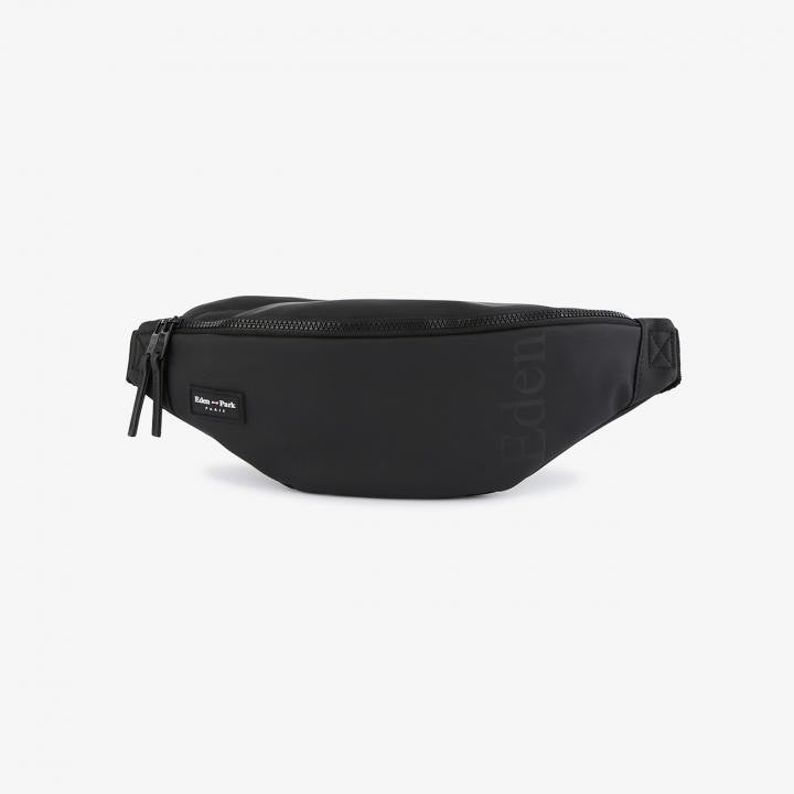 Water-Resistant Black Clip-on Bum Bag by Eden Park