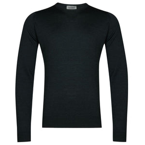 Racing Green Lundy Pullover by John Smedley