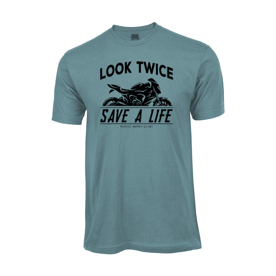 """Sport"" Look Twice Save a Life T-shirt freeshipping - Dip123"