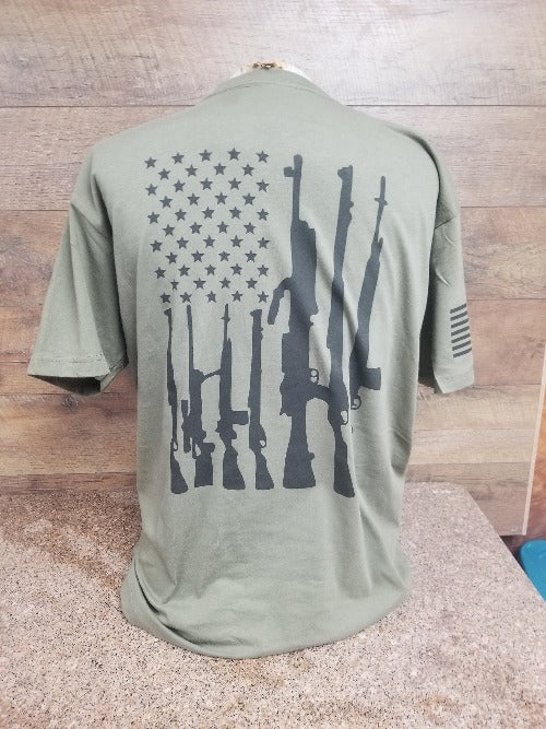 R2R Military Green Tee shirt freeshipping - Dip123