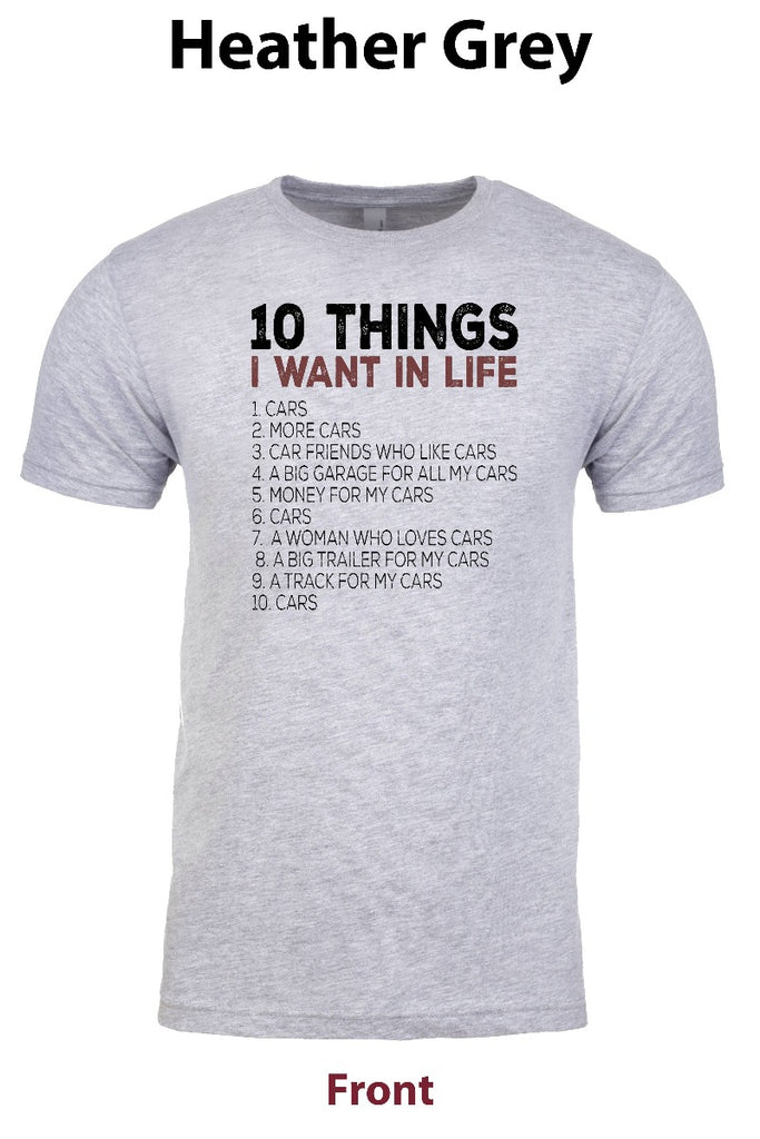 10 Things I want in Life