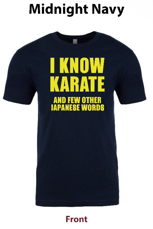 I know Karate 1 freeshipping - Dip123