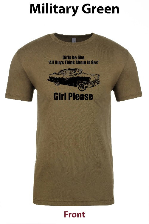 All Men Want is Sex (Cars) freeshipping - Dip123