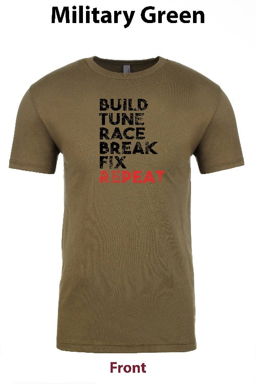 build, tune, race, break, fix, repeat