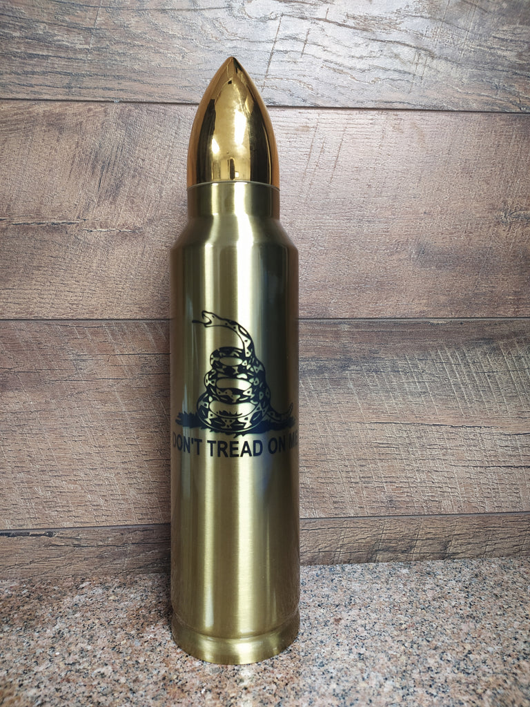 Dont Tread on Me Bullet Thermos