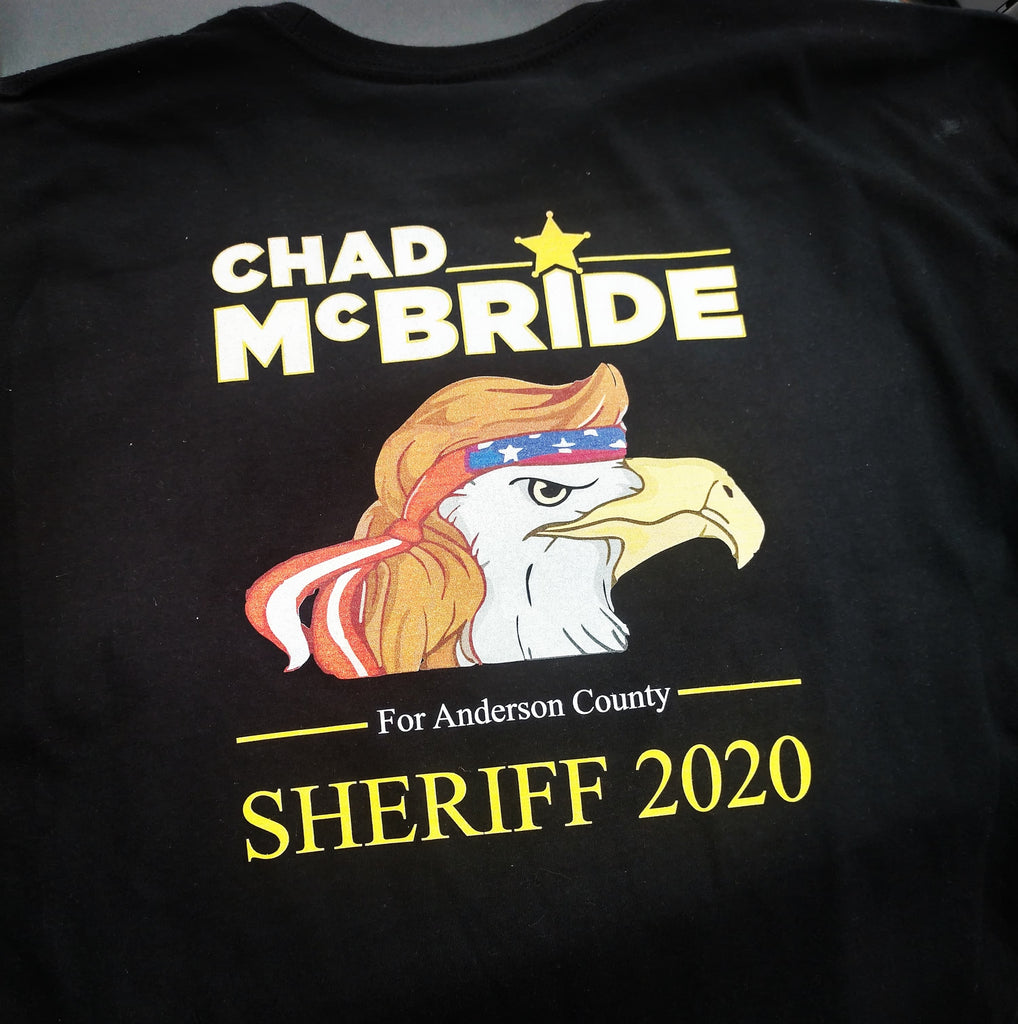 Sheriff Chad McBride Screaming Eagle Shirt