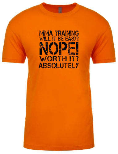 MMA Training Is Easy
