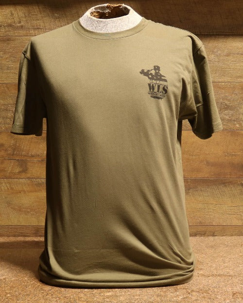 WLS Military Green Gun Edition Tee Shirt