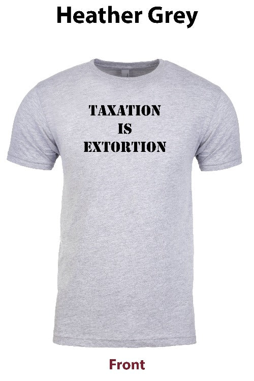 Taxation is Extortion