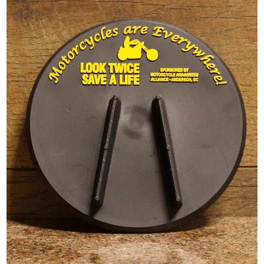Look Twice Save a Life Kick Stand Plate
