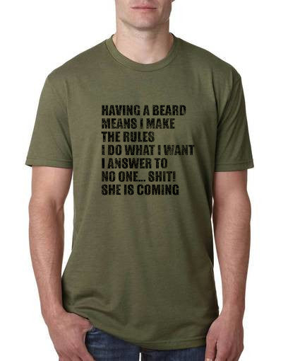 Beards Do what they want freeshipping - Dip123
