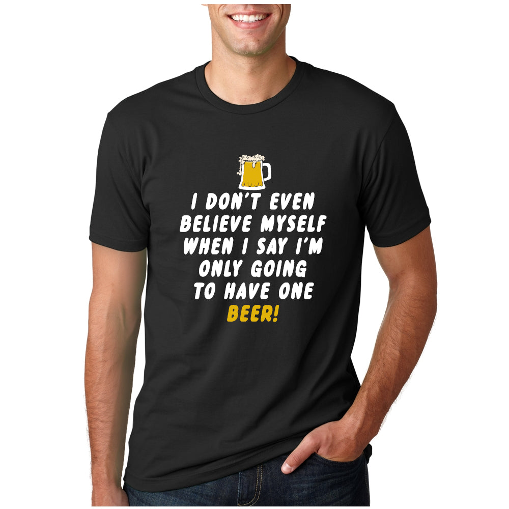 only one beer