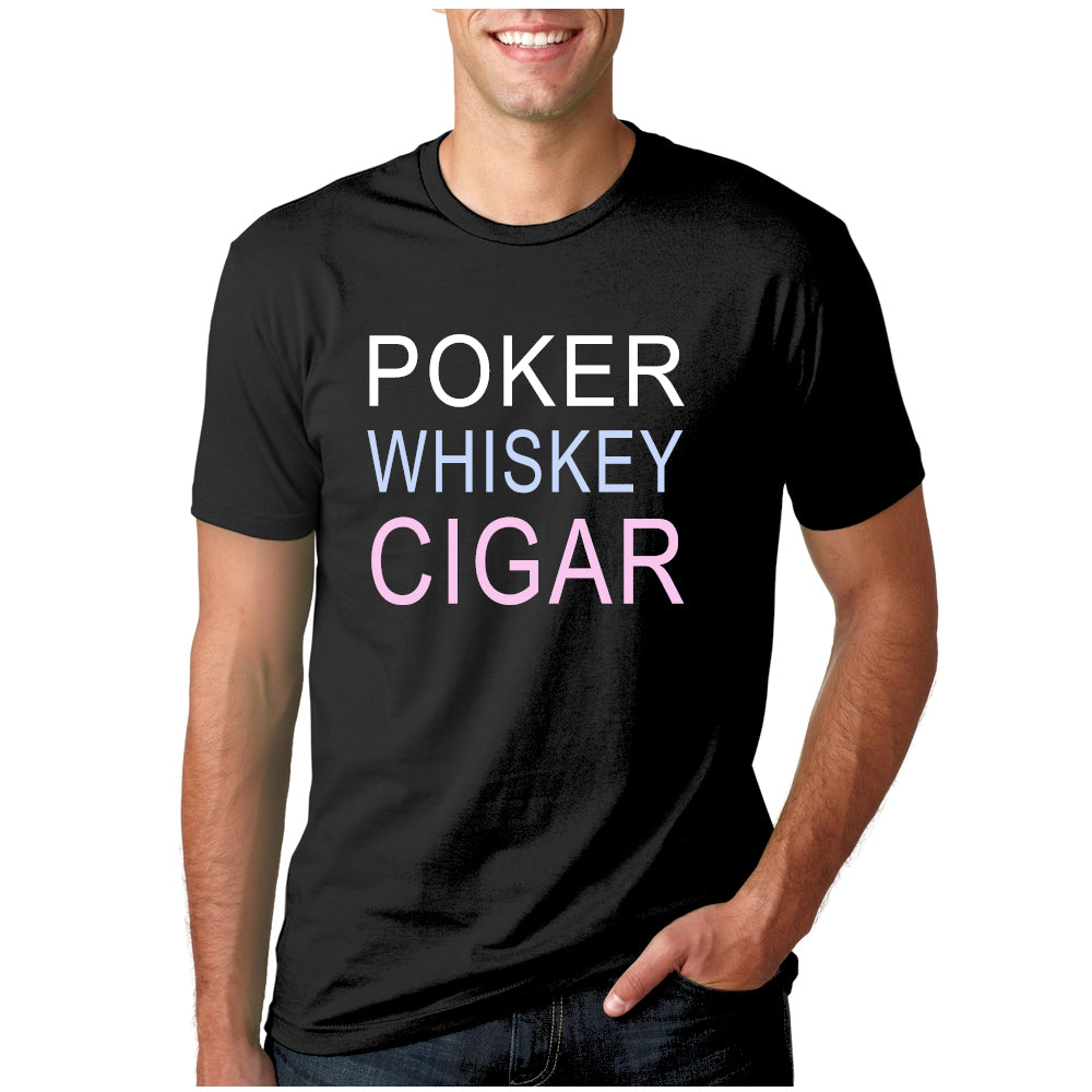 Poker Whiskey Cigars