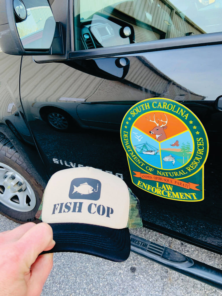 """Fish Cop"" Trucker Hat freeshipping - Dip123"