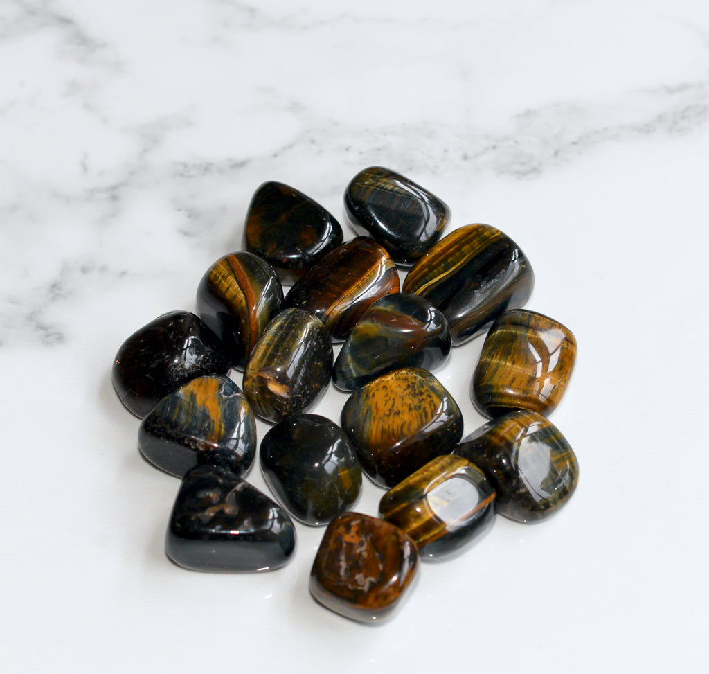 Blue Tiger Eye Tumbles