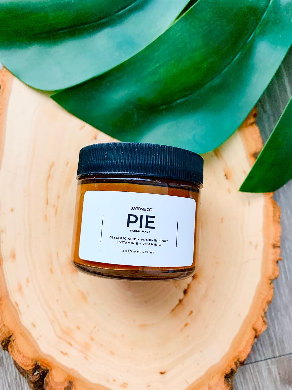 Pie - Exfoliating Facial Mask | Pumpkin Fruit + Glycolic Acid + Vitamin E + Vitamin C