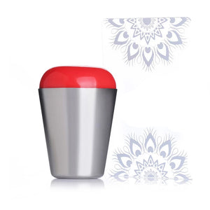 Nail Art Stamper Clear or Red